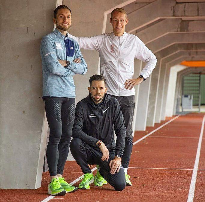 Trainers Michael en Ben in Eindhovens Dagblad