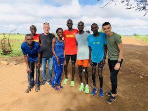 van Helden in Uganda met o.a. wereldrecordhouder Cheptegei